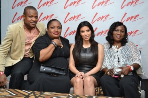 Kim K with guests (2)