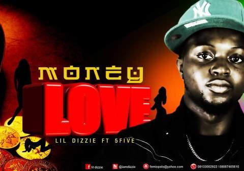 Lil' Dizzie ft. 5Five - MONEY LOVE [prod. by Dr. Spooky] Artwork